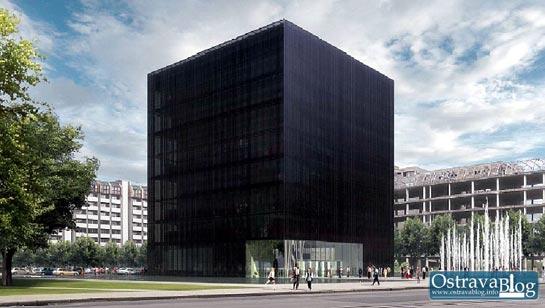 Projekt nov� V�deck� knihovny v Ostrav�
