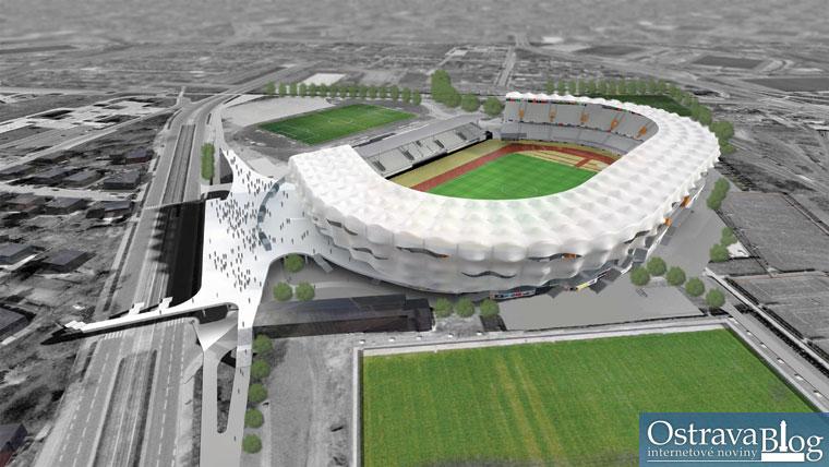 Fotografie k článku Ve Vítkovicích má stát atleticko-fotbalový stadion za miliardu