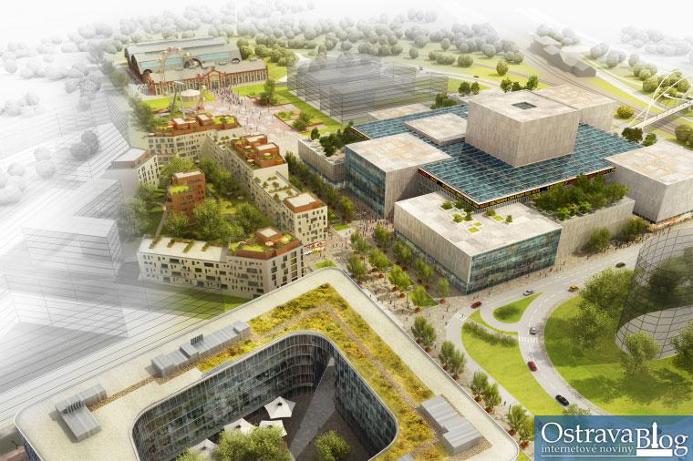 Fotografie k článku Zítra začne výstavba Nové Karoliny, největší investice v historii města