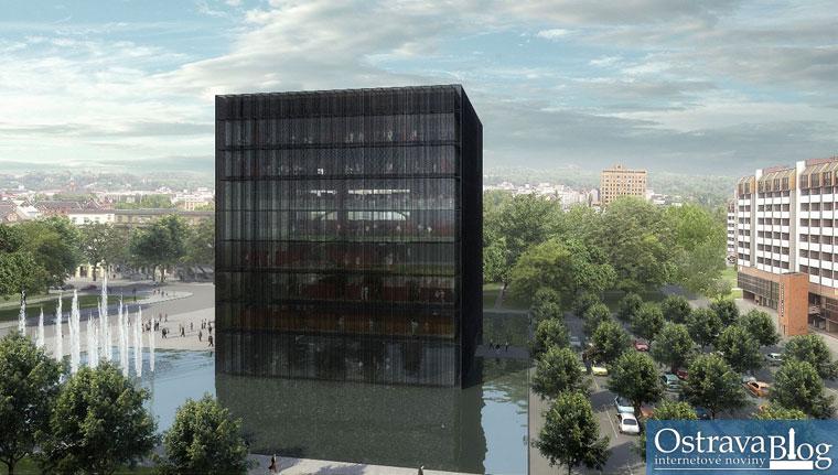 Vizualizace Černé kostky, Kuba, Pilař architekti, 2009