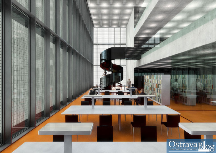 Vizualizace �ern� kostky � Kuba, Pila� architekti, 2009