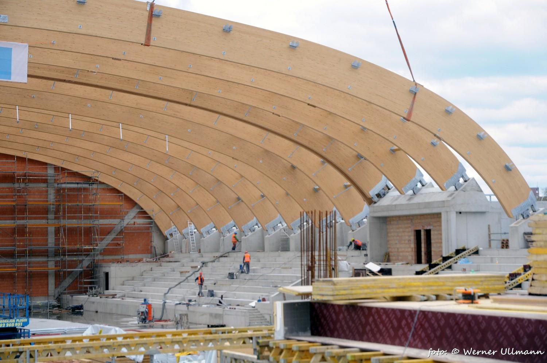 Fotografie k článku Atletická hala ve Vítkovicích