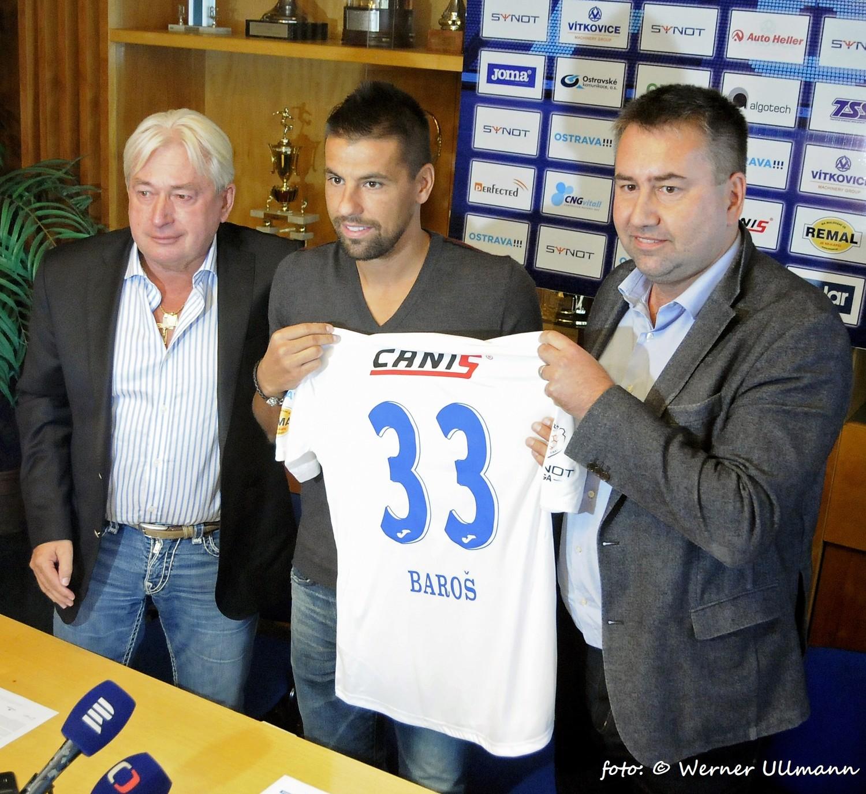 Fotografie k článku Milan Baroš se znovu vrací do Baníku