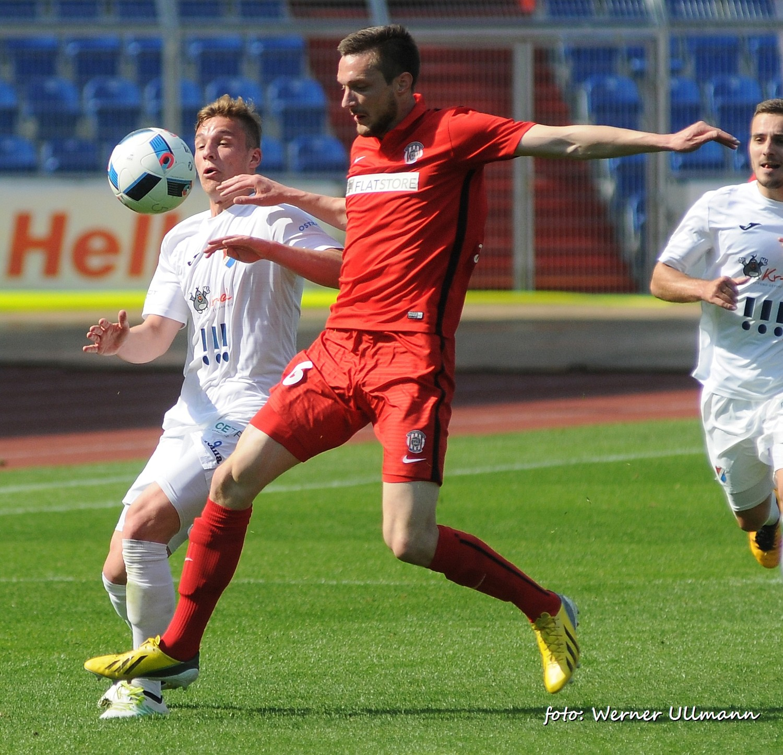 Fotografie k článku Poslední zápas v první lize Baník prohrál