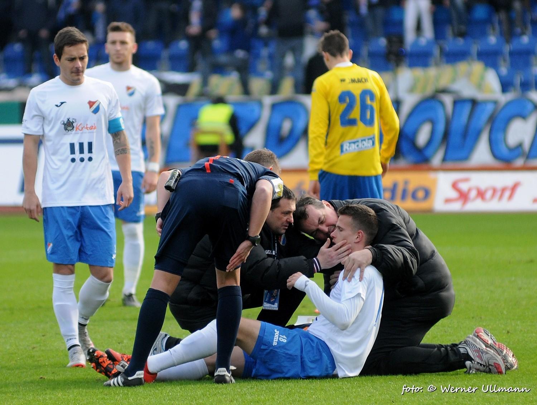 Fotografie k článku Baník porazil Zlín 3:0