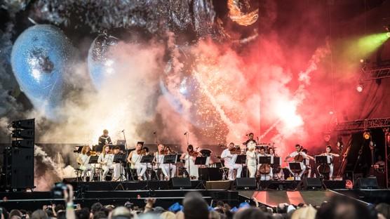 Colours of Ostrava zahájila Björk skvostným koncertem / foto (c) Matyáš Theuer, Colours of Ostrava, 2015