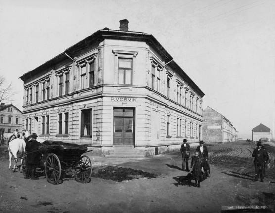Historické fotografie Mariánských Hor a Michálkovic ve Fiducii / foto (c) Jiří Hrdina 2014