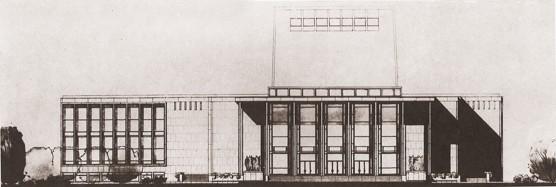 Ivo Klimeš: Operní budova Státního divadla v Ostravě, 1958–1959