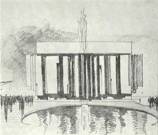Ivo Klimeš: Přestavba operního divadla v Ostravě, 1967