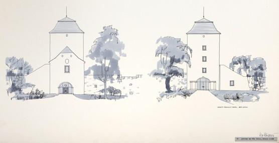 Ivo Klimeš: Rekonstrukce Slezskoostravského hradu, 1967
