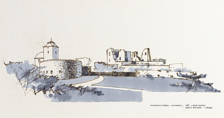Fotografie k článku Ivo Klimeš: Rekonstrukce Slezskoostravského hradu, 1967