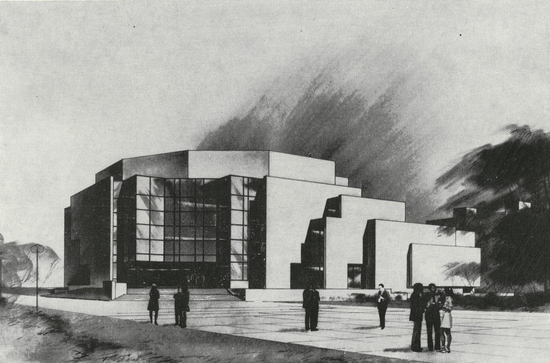 Fotografie k článku Ivo Klimeš: Dva nerealizované koncertní sály pro Ostravu