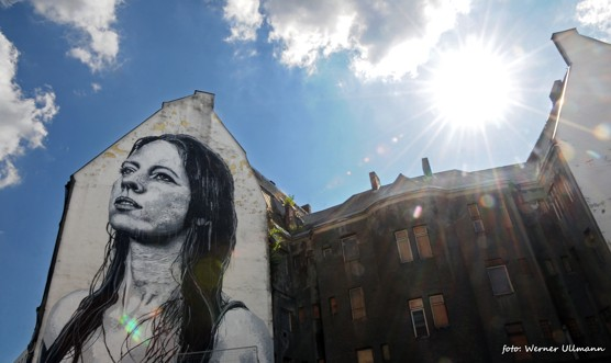 Meredith – mural art na Ostravici / foto (c) Werner Ullmann
