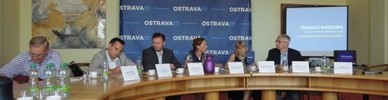 Videoreportáž z tiskové konference ke Galerii města Ostravy / foto (c) Jaroslav Němec