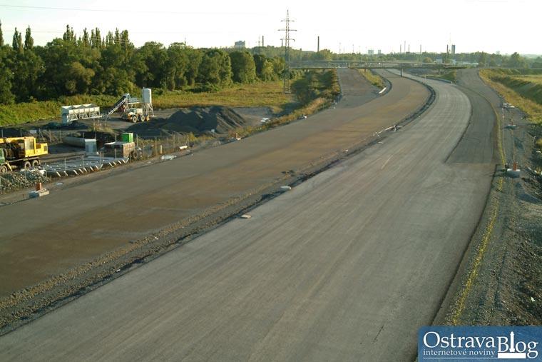 Fotografie k článku Aktuální fotografie ze stavby dálnice D47