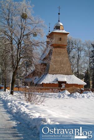 Fotografie k článku Dřevěný kostelík sv. Kateřiny v proměnách času