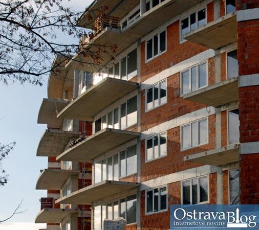 Fotografie k článku Bytové domy Atrium Slezská – nová dominanta Slezské Ostravy