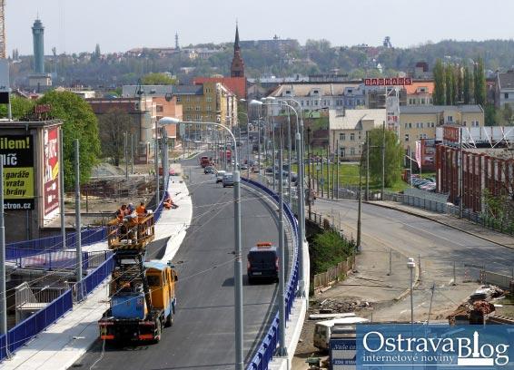 Fotografie k článku Nová Českobratrská ptačím pohledem