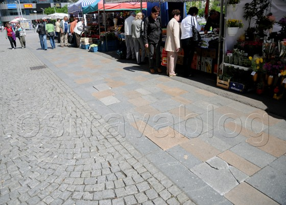 Ostravské chodníky bez komentáře