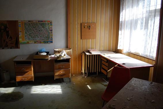 Interiér obchodního domu Textilia (Ostravica) / foto (c)  Michal Šíma, 2010