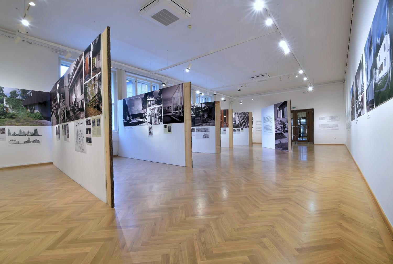 Fotografie k článku Aaltova příroda v Domě umění