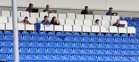 Baník odehrál zápas prvního s druhým bez diváků / foto (c) Werner Ullmann