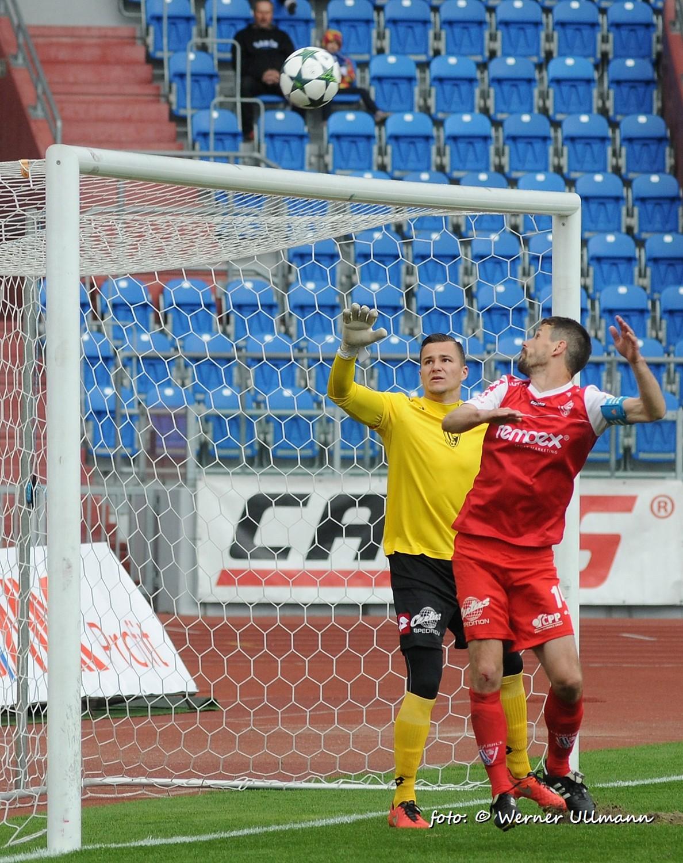 Fotografie k článku Baník remízoval s Pardubicemi 1:1