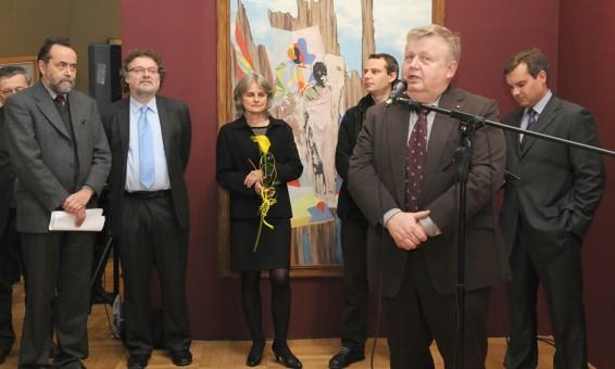 Vernisaž výstavy Černá slunce v Domě umění  / foto (c) Vladimír Šulc / GVUO, 2011