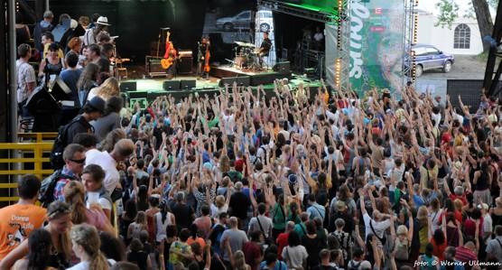 Hudba na mnoho způsobů těšila i v druhé polovině Colours of Ostrava / foto (c) Werner Ullmann, 2013