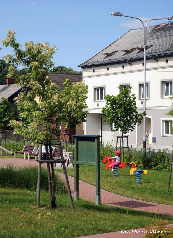 Dětská hřiště a horolezecká stěna v Petřkovicích / foto (c) Werner Ullmann