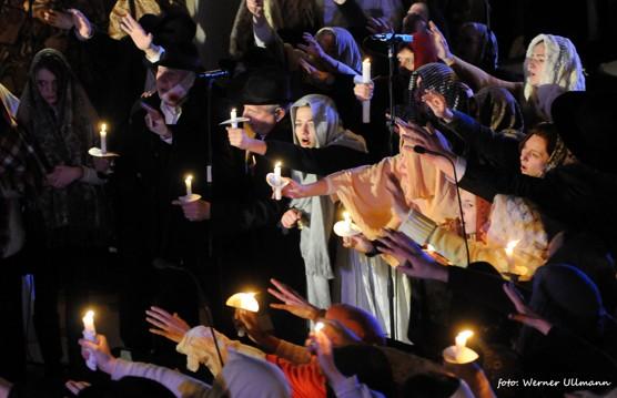 Dvěstě hlasů v Evangeliu podle houslí / foto (c) Werner Ullmann