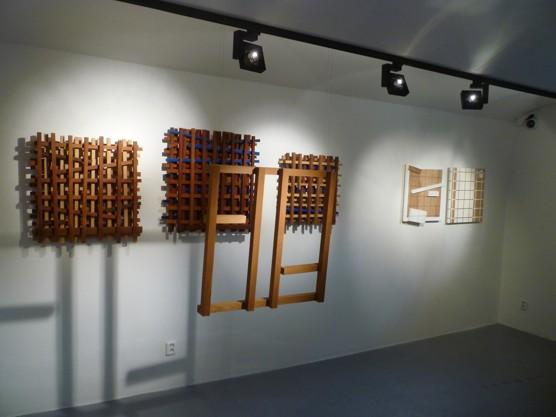 Obrazem: Jerzy Budziszewski / Jeshua Ben-Or v Industrial Gallery / foto Kabinet architektury