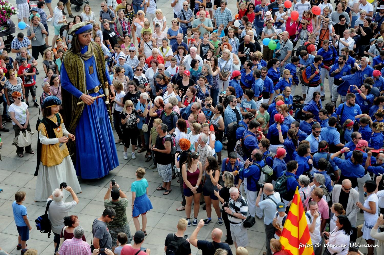 Fotografie k článku Katalánské lidské věže v Ostravě
