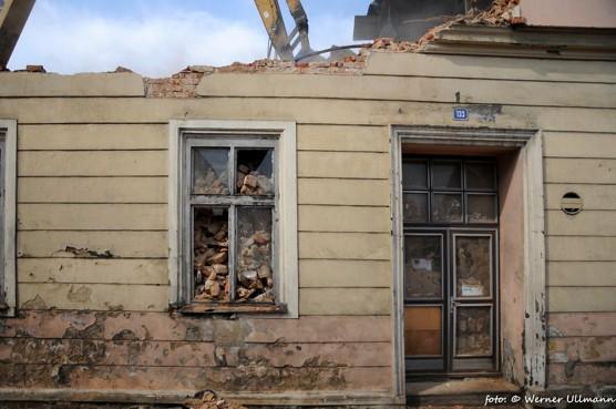 Demolice Malkovce v Petřkovicích  / foto (c) Werner Ullmann, 2013