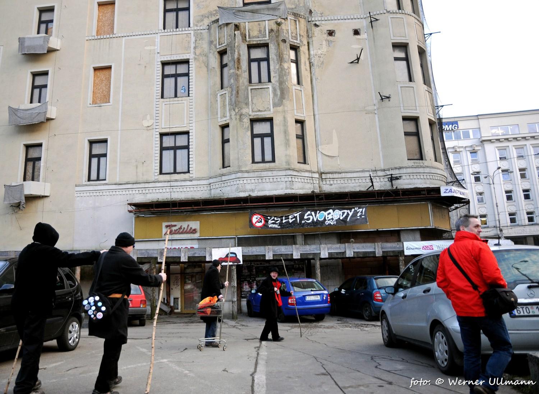 Fotografie k článku Ostrava je v centru, happening za živé historické centrum města