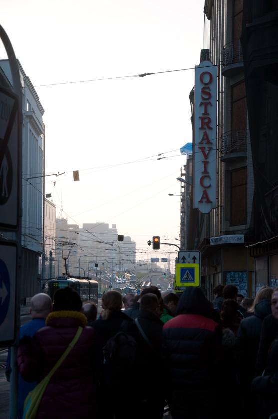 Obrazem: Ostravica-Textilia v posledním tažení? / foto Ondřej Polanský, 2014