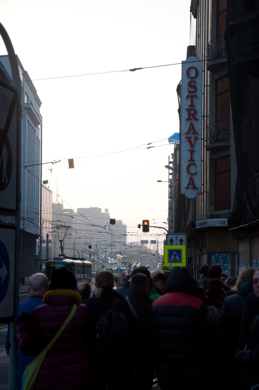 Fotografie k článku Obrazem: Ostravica-Textilia v posledním tažení?