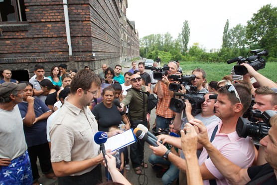 Horký začátek srpna v Přednádraží / foto (c) Petr Sznapka / www.gradiva.cz, 2012