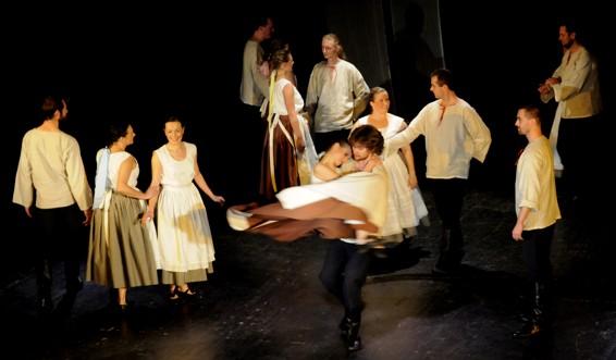 Premiérový koncert Souboru lidových písní a tanců Hlubina  / foto (c) Werner Ullmann, 2011