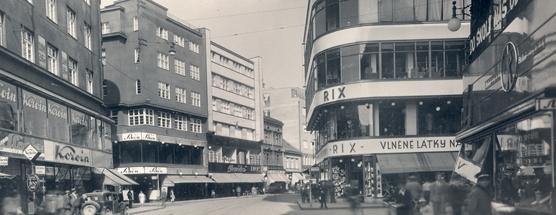 Ulice 28. října po rekonstrukci