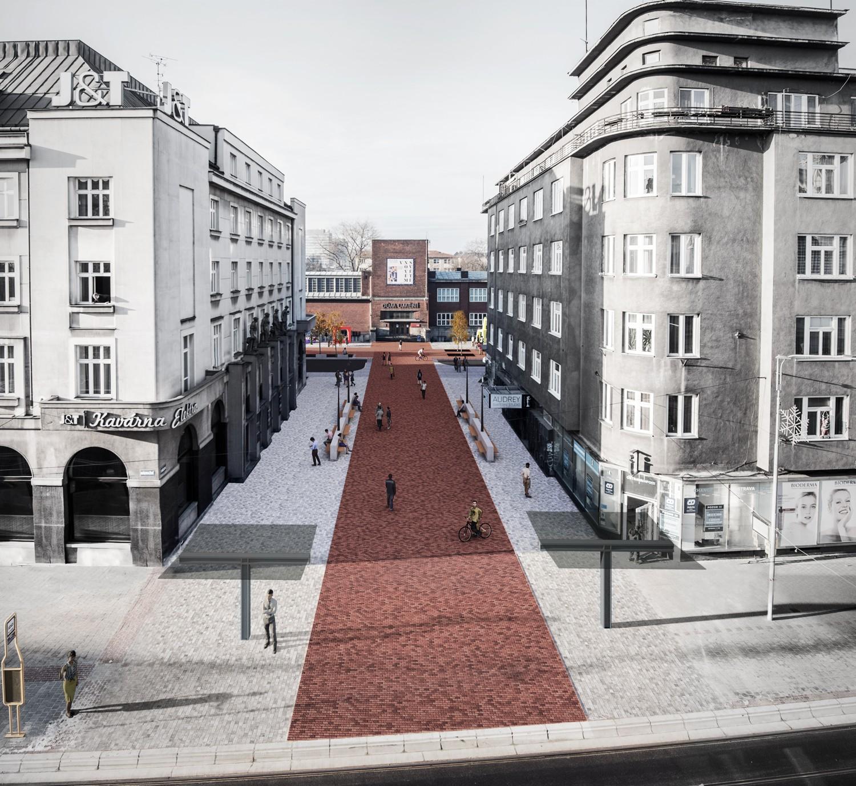 Fotografie k článku Vítězný návrh na úpravu Umělecké ulice