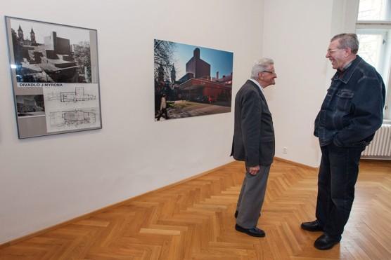 Ivo Klimeš: Architektura a divadlo – fotoreportáž z vernisáže ve Výstavní síni Sokolská 26 / foto (c) Jiří Žižka