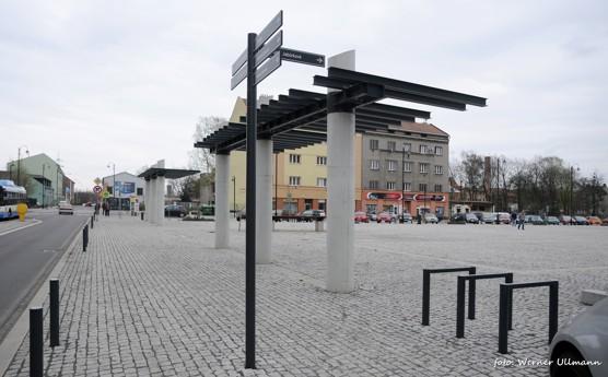 Náměstí Jiřího z Poděbrad ve Vítkovicích / foto (c) Werner Ullmann