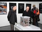 Fotografie k aktualitě Fotografie z vernisáže výstavy návrhu Černé kostky