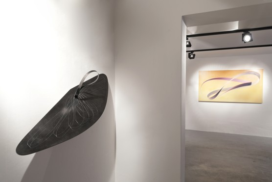 Výstava Shadow over Light výtvarnice Katalin Haász v Moravské Ostravě / foto (c) Jiří Žižka, 2018